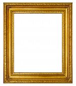 Frame with antique gold moulding