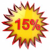 Star Discount Of Fifteen Percent
