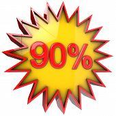 Star Off Ninety Percent