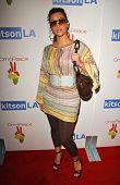 Kim Kardashian at the OmniPeace Benefit To Stop Extreme Poverty in Sub-Saharan Africa. Kitson Men, L