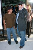 David Crosby and family at the Los Angeles premiere of