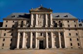 Royal Monastery Of San Lorenzo De El Escorial In Madrid, Spain