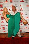 Jewel and Richard Branson at Rock The Kasbah presented by Virgin Unite. Roosevelt Hotel, Hollywood, CA. 07-02-07
