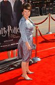 Imelda Staunton at the premiere of