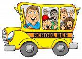 School Bus With Kids