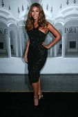 Beyonce Knowles at the Giorgio Armani Prive Show to celebrate the Oscars. Green Acres, Los Angeles,