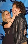 Kimberly Caldwell and Justin Guarini at the American Idol Top 12 Finalists Party. Astra West, West Hollywood, CA. 03-08-07