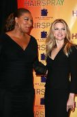 Queen Latifah and Michelle Pfeiffer at the ShoWest 2007 Photocall for