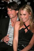 Jerry O'Connell and Rebecca Romijn at day one of the 2007 Mercedes-Benz Fashion Week Fall Collection. Smashbox Studios, Culver City, CA. 03-18-07