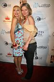 Lorielle New and Olja Hrustic at the DVD Release Party for