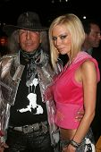 Lou Goldstein and Jenna Jameson at day two of the 2007 Mercedes-Benz Fashion Week Fall Collection. Smashbox Studios, Culver City, CA. 03-19-07