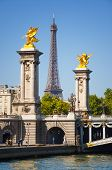 Pont Alexandre III In Paris City
