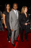 Anika Poitier with Sidney Poitier and Joanna Poitier at the Los Angeles premiere of