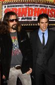 Rob Zombie and Eli Roth at the Los Angeles premiere of