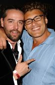 Laurent Planeix and Steven Bauer at the Los Angeles Runway Debut of Marceau. Boulevard3, Hollywood, CA. 03-29-07