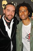 Laurent Planeix and Eric Benet at the Los Angeles Runway Debut of Marceau. Boulevard3, Hollywood, CA. 03-29-07