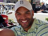 Amaury Nolasco at the 7th Annual Playboy Golf Scramble Championship Finals. Lost Canyons Golf Club,