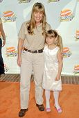 Terri Irwin and Bindi Irwin at Nickelodeon's 20th Annual Kids' Choice Awards. Pauley Pavillion, West