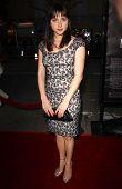 Zoe Kazan at the Los Angeles premiere of