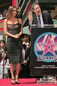 Halle Berry and Tom Rothman at the ceremony honoring Halle Berry with the 2,333rd star on the Hollyw