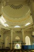 Inside Main Prayer Hall of Al Bukhary Foundation Mosque