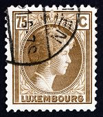 Postage Stamp Luxembourg 1927 Charlotte, Grand Duchess Of Luxembourg