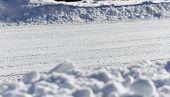 Snow Plowed Street