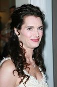 Brooke Shields at the Oscar De La Renta Boutique Opening Benefiting EIF Women's Cancer Research Fund