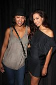 Meagan Good, Amy Correa Bell at the