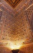 Mosaics Corner Ambassador Room Alcazar Royal Palace Seville Spain