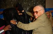 Dr. Dark and Stan Lee at the
