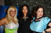 Ms. Limelight with Radha Nilia and Hygena at the