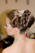 foto of birthmark  - The Beautiful hairdress for the european bride - JPG