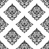 Geometric arabesque seamless pattern