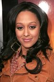 Tia Mowry at the world premiere of