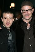 Nick Cassavetes and Justin Timberlake at the World Premiere of