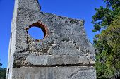 stock photo of 1700s  - The remains of barracks at Fort Frederica National Monument on Saint Simons Island, Georgia
