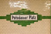 Postamer Platz In Berlin, Germany