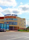 The Academy Of Judo In Zvenigorod, Russia