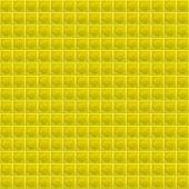 Yellow Pattern Tetrahedral Mosaic