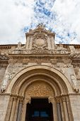 Fine Romanesque   Main Entrance  In The  San Isidoro Clllegiate Of  Leon