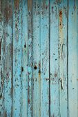Old blue textured wooden background