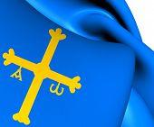 Principality Of Asturias Flag