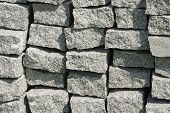 Curbs stone backgrounds
