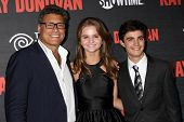 LOS ANGELES - JUL 9:  Steven Bauer, Kerris Dorsey, Devon Bagby at the