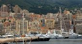 Monaco - Yachts In The Port Hercules
