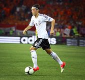 Mesut Ozil Of Germany Controls A Ball