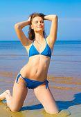Girl on a Beach Beach Girl