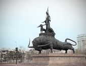 Monument To Kazakh National Style In Astana