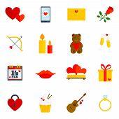 Romantic Icon Flat